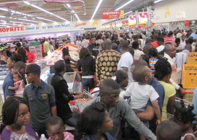 Shoppers at Shoprite Stores