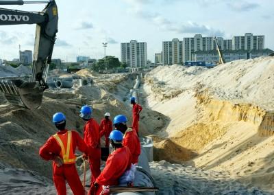 Construction site Eko Atlantic City