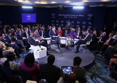 World economic forum meeting